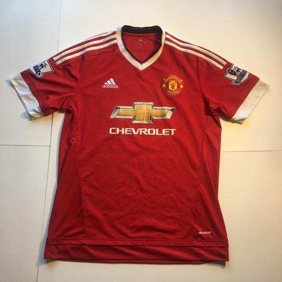 9487be5f266 adidas Shirts | Manchester United Soccer Club Jersey | Poshmark